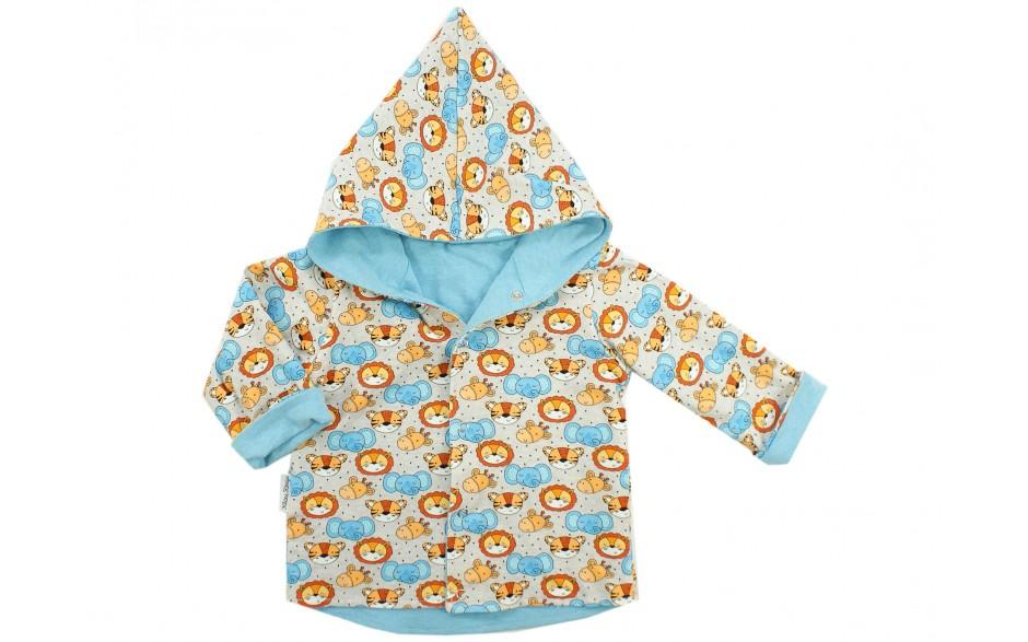 "Excellent.org: Kids reversible jacket ""Little Animals"""