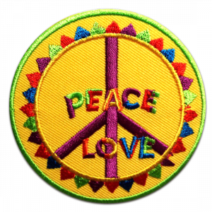EXCELLENT.ORG interviews Catch the Patch and shows the Topseller Peace patch